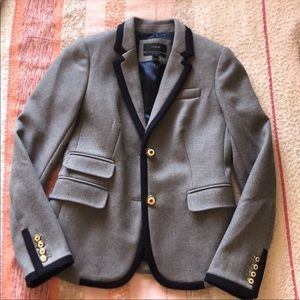 J crew schoolboy blazer size 0